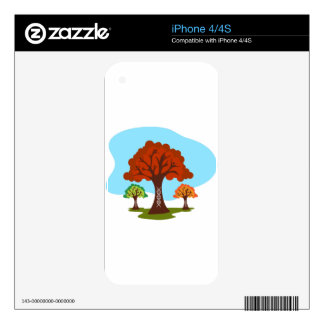 Genetic DNA Family History Tree Roots Skins For The iPhone 4S