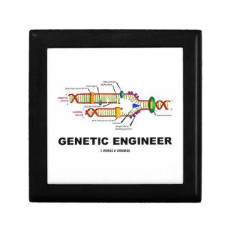 Genetic Engineer DNA Replication Jewelry Box