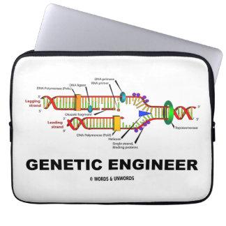Genetic Engineer DNA Replication Laptop Sleeve