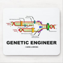 Genetic Engineer (DNA Replication) Mousepads