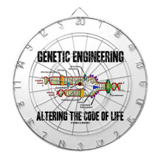 Genetic Engineering Altering The Code Of Life Dartboard