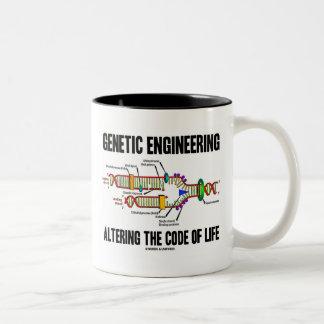 Genetic Engineering Altering The Code Of Life Two-Tone Coffee Mug