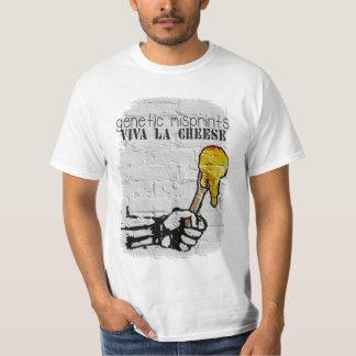 Genetic Misprints Viva La Cheese T-Shirt