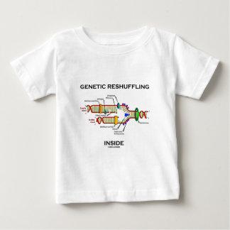 Genetic Reshuffling Inside Biology Geek Humor Baby T-Shirt