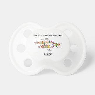 Genetic Reshuffling Inside Biology Geek Humor Pacifier