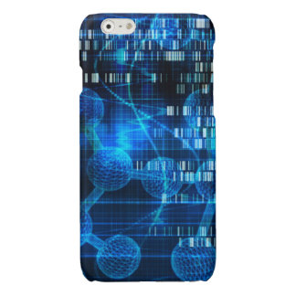 Genetic Science Research as a Medical Abstract Art Glossy iPhone 6 Case