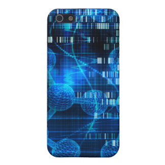 Genetic Science Research as a Medical Abstract Art iPhone SE/5/5s Case