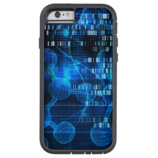 Genetic Science Research as a Medical Abstract Art Tough Xtreme iPhone 6 Case