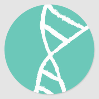 Genetic Sequence DNA Logo Sticker