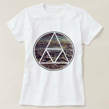 Beach Themed Genetic Sequence -  Land Mark T-Shirt