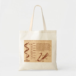 Genetic Sequence Tote Bag
