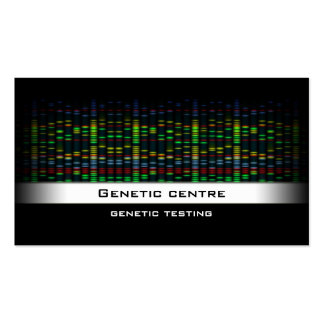 Genetic Testing - Gene Research Business Card