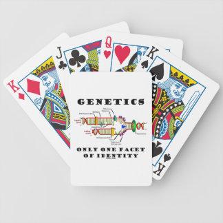 Genética solamente una faceta de la identidad DNA Barajas De Cartas