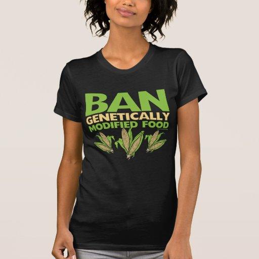 Genetically Modified Food GMO T Shirt
