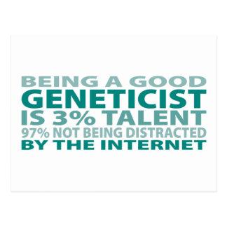 Geneticist 3% Talent Postcard