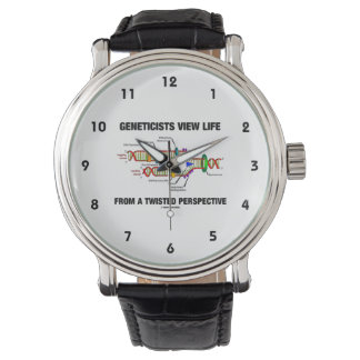 Geneticists View Life From A Twisted Perspective Wrist Watches