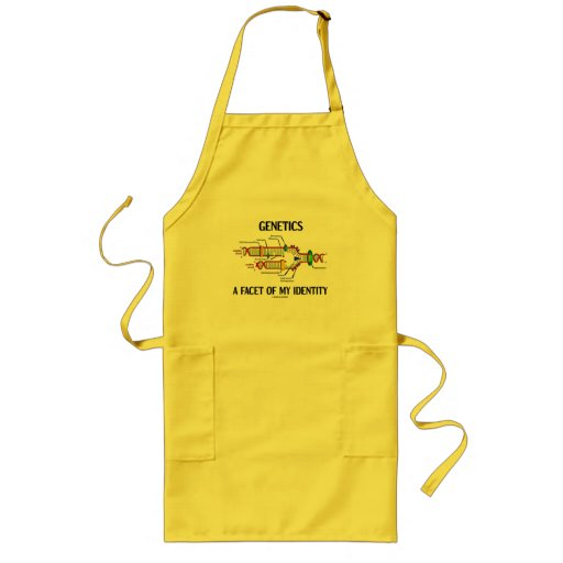 Genetics A Facet Of My Identity (DNA Replication) Apron