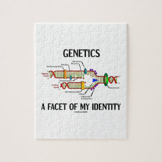 Genetics A Facet Of My Identity (DNA Replication) Jigsaw Puzzle