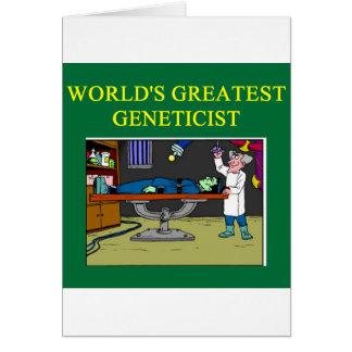 genetics joke card