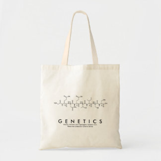 Genetics peptide name bag