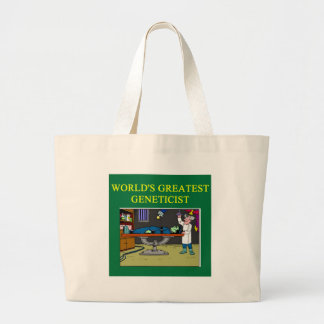 geneticts biology design tote bags