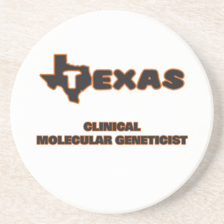 Genetista molecular clínico de Tejas Posavasos Manualidades