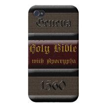 Geneva Bible Spine iPhone4 Case iPhone 4 Cover