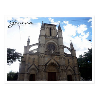 geneva church postcard