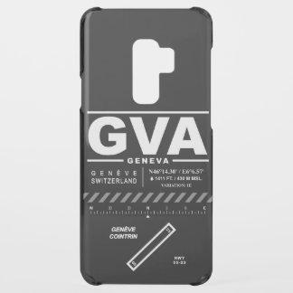Geneva Cointrin Airport GVA Uncommon Samsung Galaxy S9 Plus Case