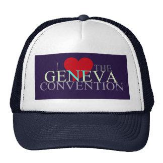Geneva Convention Cap Trucker Hat