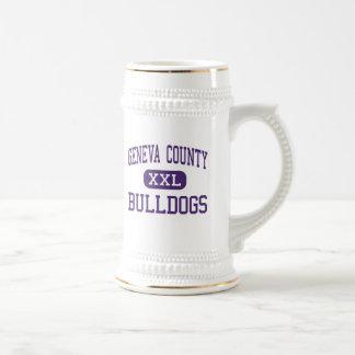 Geneva County - Bulldogs - High - Hartford Alabama Beer Stein