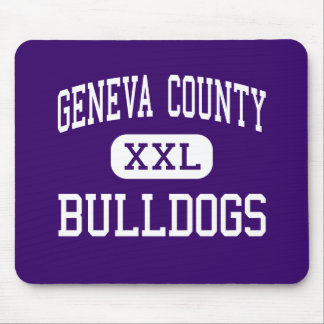 Geneva County - Bulldogs - High - Hartford Alabama Mouse Pad