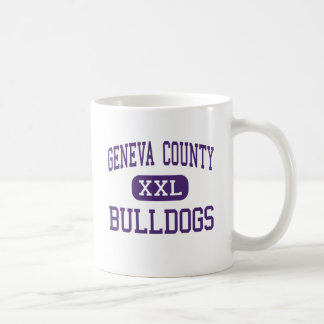 Geneva County - Bulldogs - High - Hartford Alabama Classic White Coffee Mug