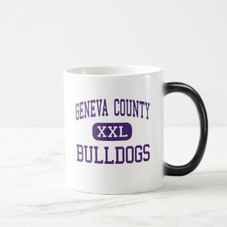 Geneva County - Bulldogs - High - Hartford Alabama 11 Oz Magic Heat Color-Changing Coffee Mug