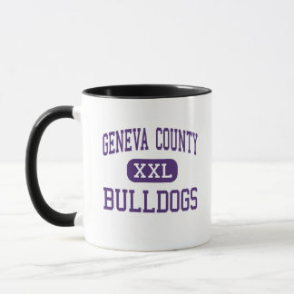 Geneva County - Bulldogs - High - Hartford Alabama Mug