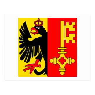 Geneva Flag Post Card