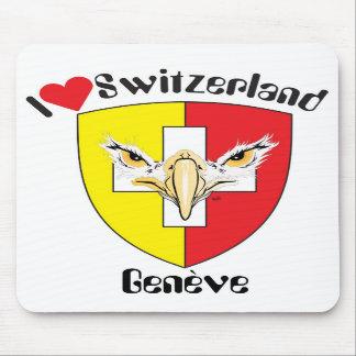 Geneva, Genève, Ginevra, Genevra Mousepad