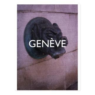 Geneva - Geneve Postcard