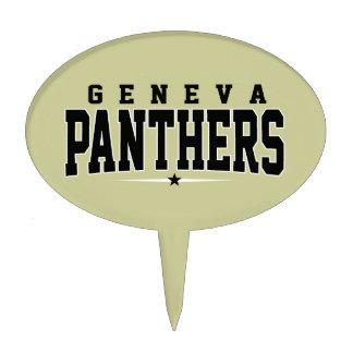 Geneva High School; Panthers Cake Picks