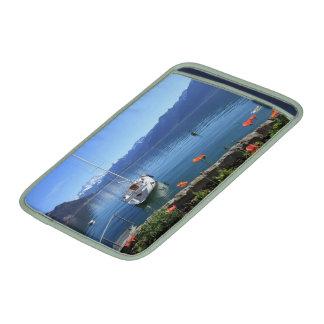 Geneva lake scenery, Montreux, Switzerland Sleeve For MacBook Air