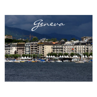 geneva lake shore postcard