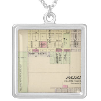 Geneva, Nebraska Silver Plated Necklace