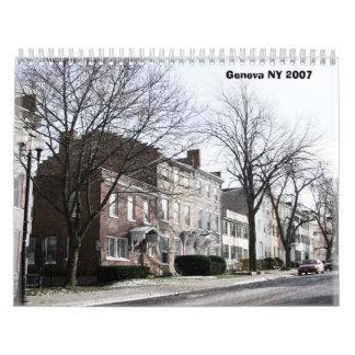 Geneva NY 2007 Calendar