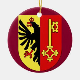 Geneva*, Switzerland Christmas Ornament