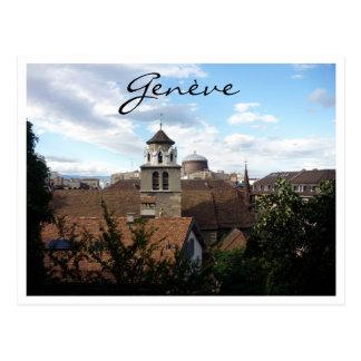 geneva view postcard