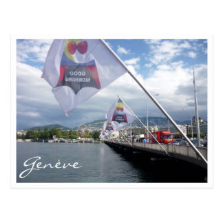 genève morning postcard