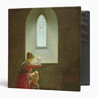 """Genevieve de Brabante que bautiza a su hijo en la Carpeta 1 1/2"""""""