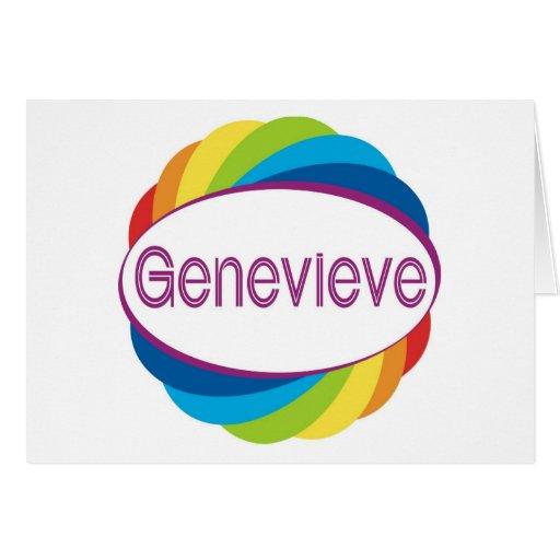 Genevieve Greeting Cards