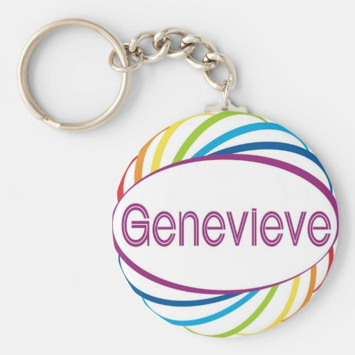 Genevieve Llavero Redondo Tipo Pin