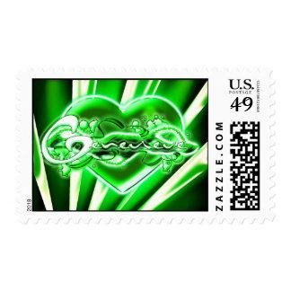 Genevieve Postage Stamp